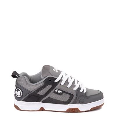 Main view of Mens DVS Comanche Skate Shoe - Gray / Charcoal