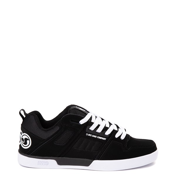 Mens DVS Comanche 2.0+ Skate Shoe - Black / White