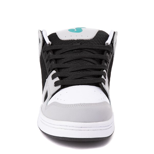 alternate view Mens DVS Celsius Skate Shoe - Black / White / TurquoiseALT4