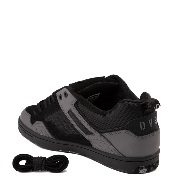 alternate view Mens DVS Enduro 125 Skate Shoe - Black / Charcoal / CamoALT1