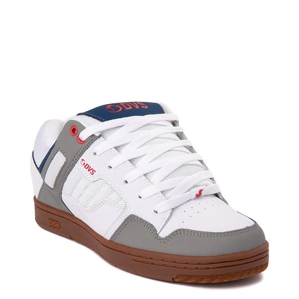alternate view Mens DVS Enduro 125 Skate ShoeWhite / Gray / NavyALT1