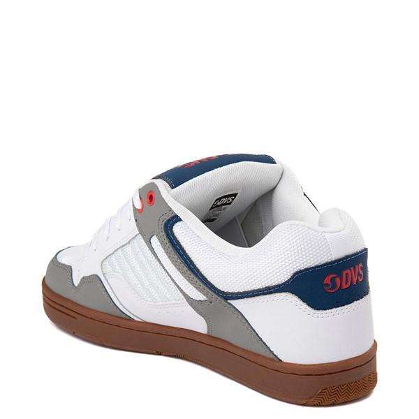 alternate view Mens DVS Enduro 125 Skate ShoeWhite / Gray / NavyALT2
