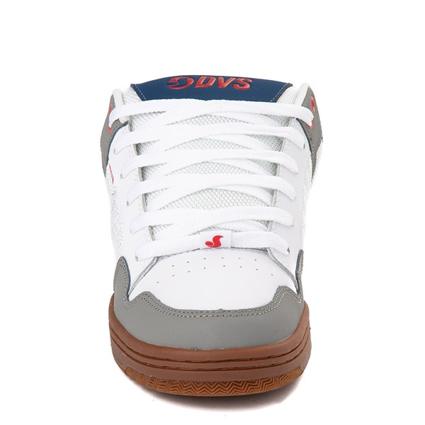 alternate view Mens DVS Enduro 125 Skate ShoeWhite / Gray / NavyALT4