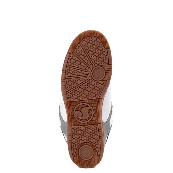 alternate view Mens DVS Enduro 125 Skate ShoeWhite / Gray / NavyALT5