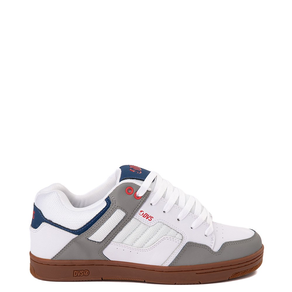 Mens DVS Enduro 125 Skate ShoeWhite / Gray / Navy
