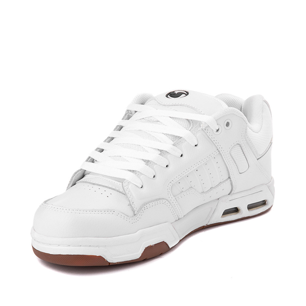 alternate view Mens DVS Enduro Heir Skate Shoe - WhiteALT2
