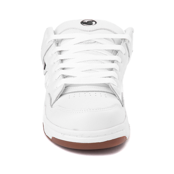 alternate view Mens DVS Enduro Heir Skate Shoe - WhiteALT4