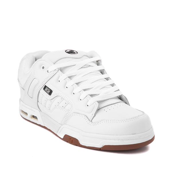 alternate view Mens DVS Enduro Heir Skate Shoe - WhiteALT5