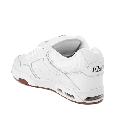 Alternate view of Mens DVS Enduro Heir Skate Shoe - White