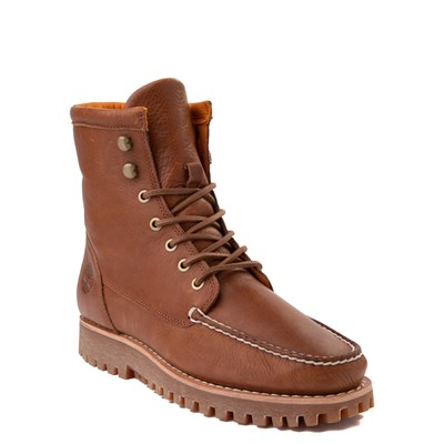 Alternate view of Mens Timberland Jackson's Landing Boot - Saddle Brown