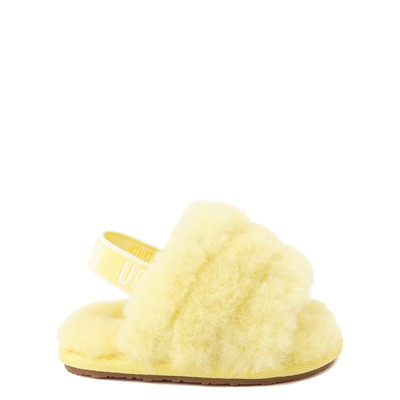 Main view of UGG® Fluff Yeah Slide Sandal - Baby / Toddler - Lemonade