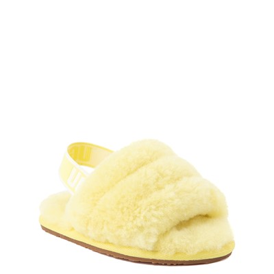 Alternate view of UGG® Fluff Yeah Slide Sandal - Toddler / Little Kid - Lemonade