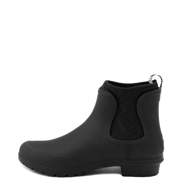 alternate view Womens UGG® Chevonne Chelsea Rain Boot - BlackALT1