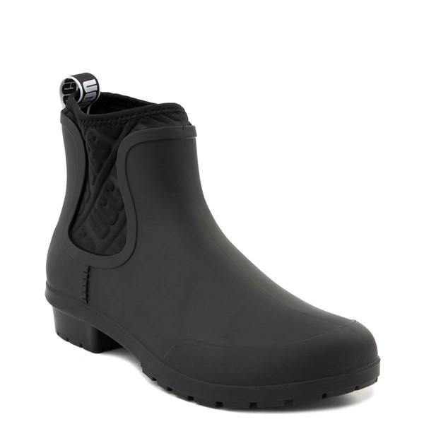 alternate view Womens UGG® Chevonne Chelsea Rain Boot - BlackALT5