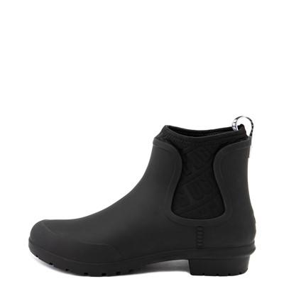 Alternate view of Womens UGG® Chevonne Chelsea Rain Boot - Black