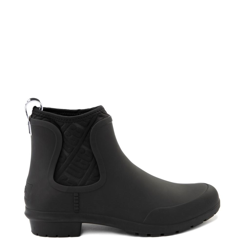 Womens UGG® Chevonne Chelsea Rain Boot - Black