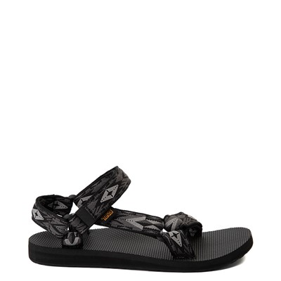 Main view of Womens Teva Original Universal Sandal - Black / Gray