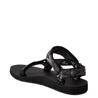 Alternate view of Womens Teva Original Universal Sandal - Black / Gray