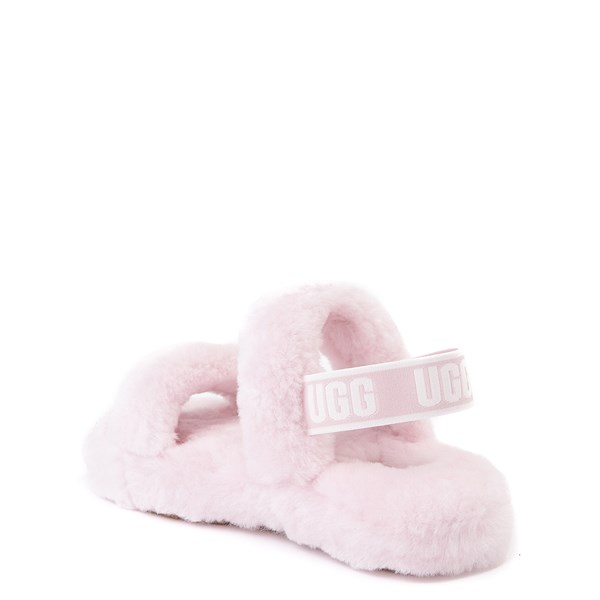 alternate view UGG® Oh Yeah Slide Sandal - Little Kid / Big Kid - Seashell PinkALT2
