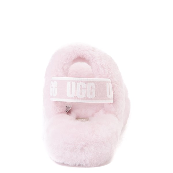 alternate view UGG® Oh Yeah Slide Sandal - Little Kid / Big Kid - Seashell PinkALT2B
