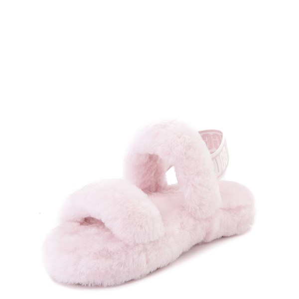 alternate view UGG® Oh Yeah Slide Sandal - Little Kid / Big Kid - Seashell PinkALT3