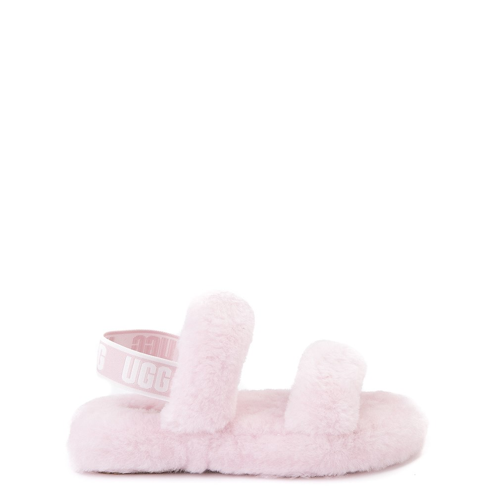 UGG® Oh Yeah Slide Sandal - Little Kid / Big Kid - Seashell Pink