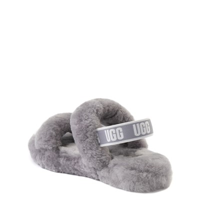 Alternate view of UGG® Oh Yeah Slide Sandal - Little Kid / Big Kid - Soft Amethyst