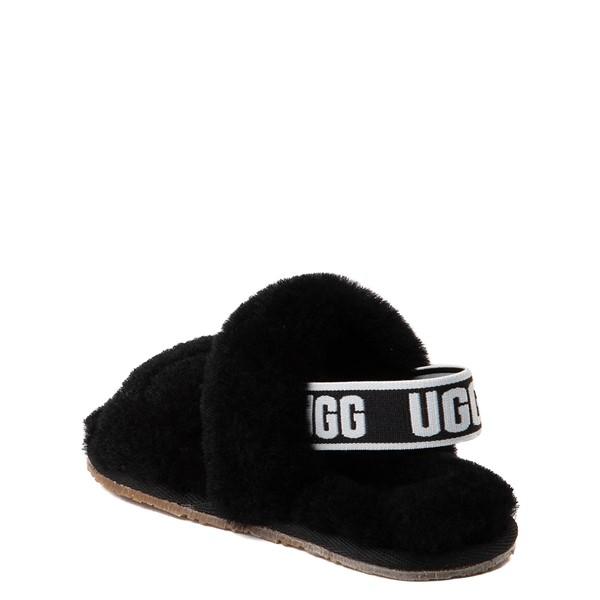 alternate view UGG® Oh Yeah Slide Sandal - Toddler / Little Kid - BlackALT1
