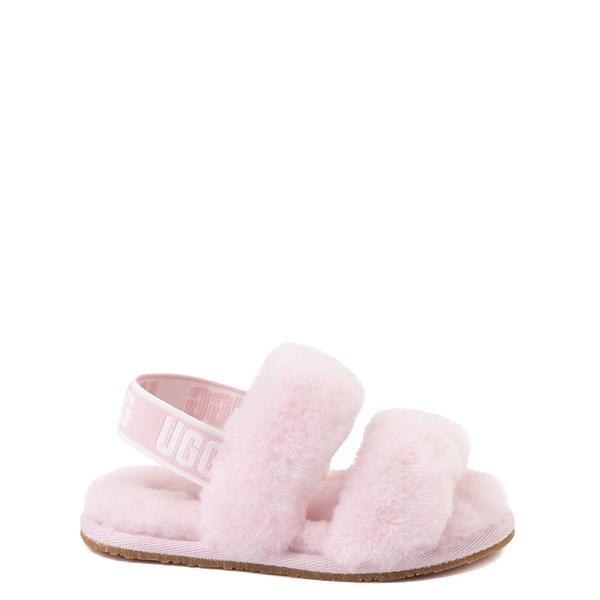 UGG® Oh Yeah Slide Sandal - Toddler / Little Kid - Seashell Pink