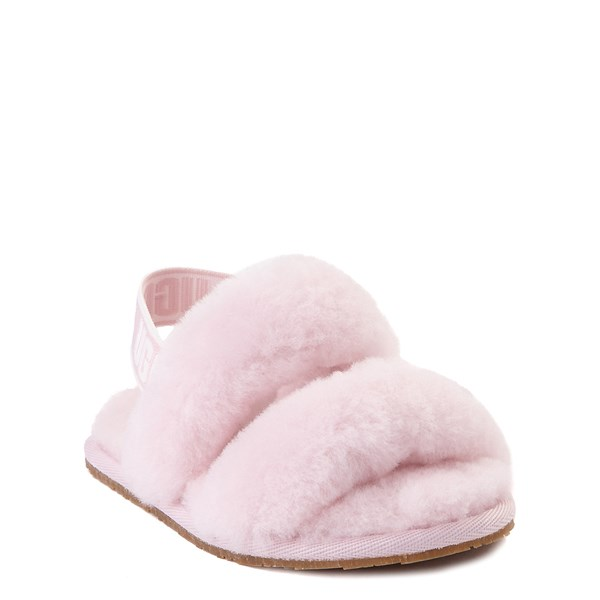 alternate view UGG® Oh Yeah Slide Sandal - Toddler / Little Kid - Seashell PinkALT1