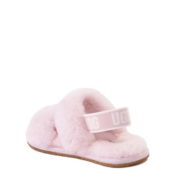 alternate view UGG® Oh Yeah Slide Sandal - Toddler / Little Kid - Seashell PinkALT2