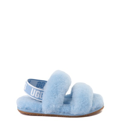 Main view of UGG® Oh Yeah Slide Sandal - Toddler / Little Kid - Horizon