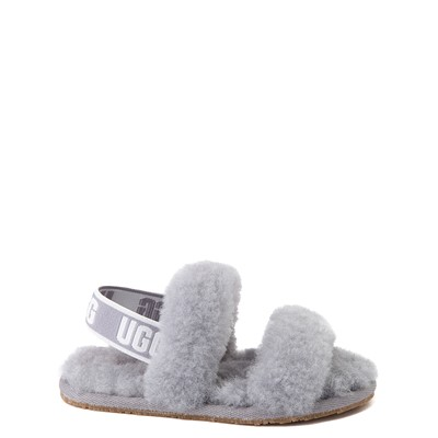 Main view of UGG® Oh Yeah Slide Sandal - Toddler / Little Kid - Soft Amethyst
