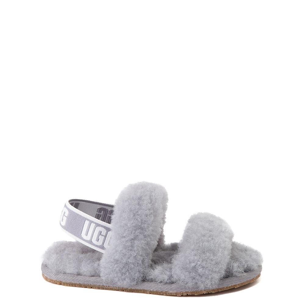 UGG® Oh Yeah Slide Sandal - Toddler / Little Kid - Soft Amethyst