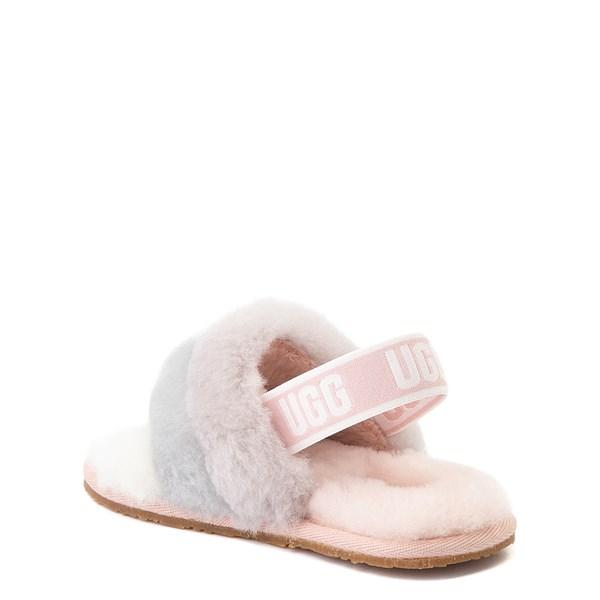 alternate view UGG® Fluff Yeah Slide Sandal - Toddler / Little Kid - QuartzALT2