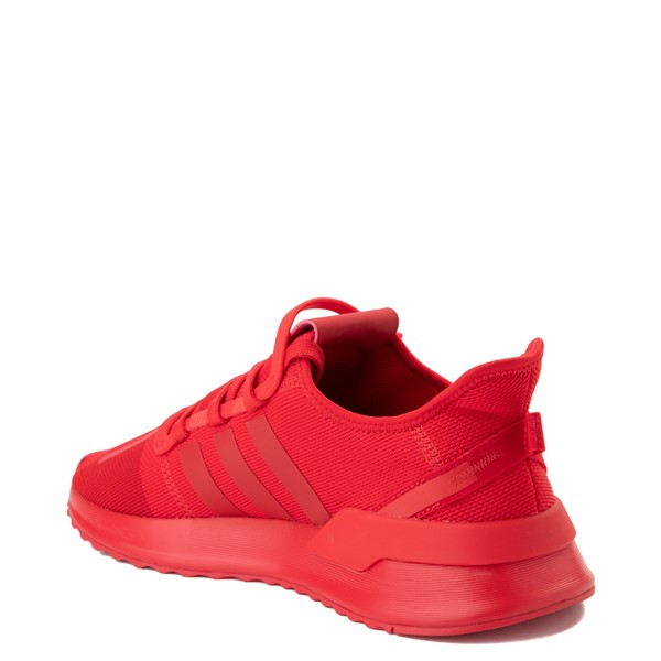alternate view Mens adidas U_Path Run Athletic Shoe - Red MonochromeALT1