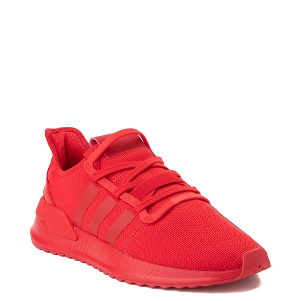 alternate view Mens adidas U_Path Run Athletic Shoe - Red MonochromeALT5