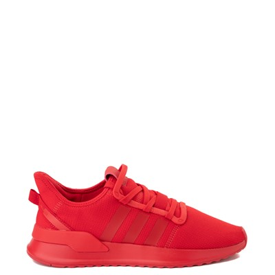Main view of Mens adidas U_Path Run Athletic Shoe - Red Monochrome
