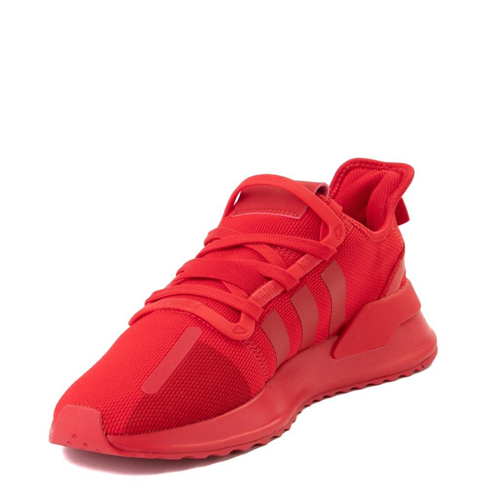 musicista Sopraffare appendere  Mens adidas U_Path Run Athletic Shoe - Red Monochrome | Journeys