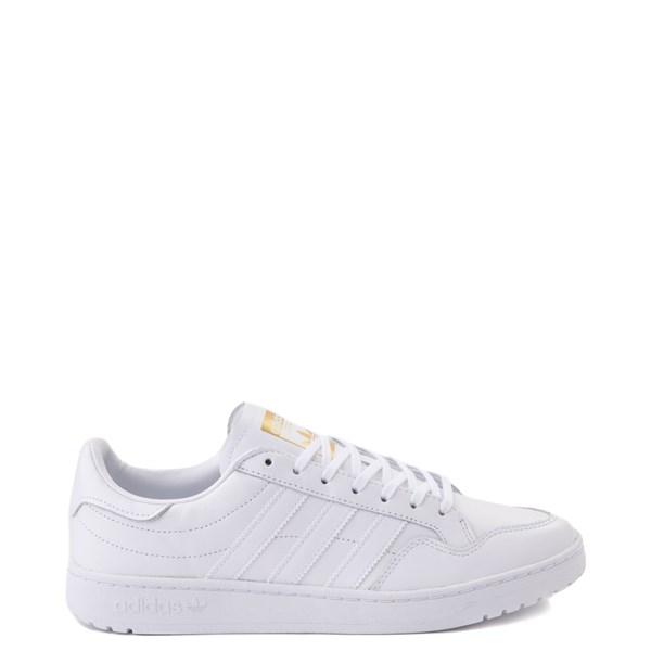 Mens adidas Team Court Athletic Shoe - White