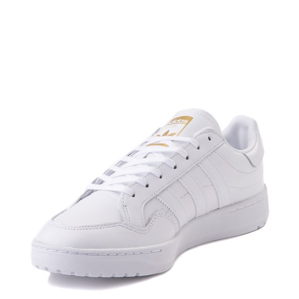 alternate view Mens adidas Team Court Athletic Shoe - WhiteALT3
