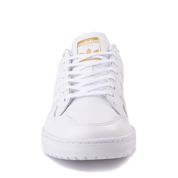alternate view Mens adidas Team Court Athletic Shoe - WhiteALT4