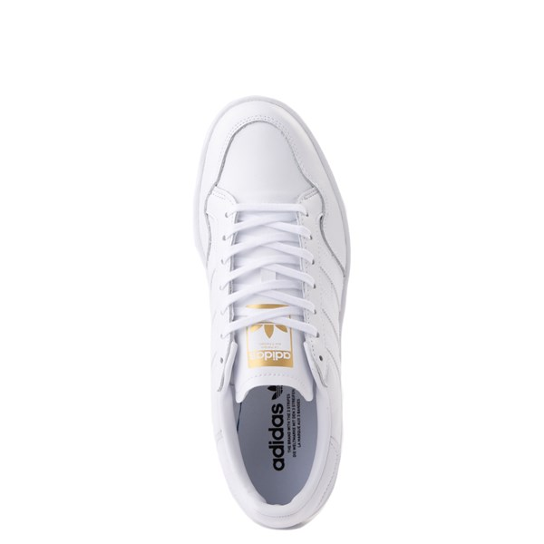 alternate view Mens adidas Team Court Athletic Shoe - WhiteALT4B