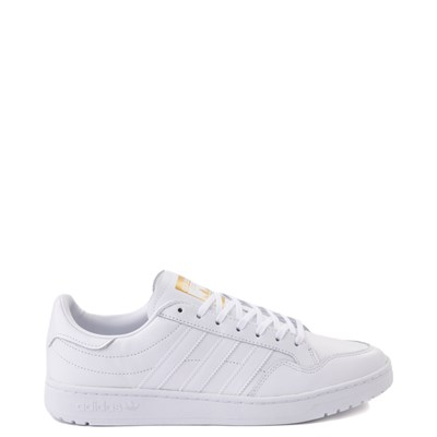 Main view of Mens adidas Team Court Athletic Shoe - White
