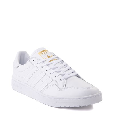 Alternate view of Mens adidas Team Court Athletic Shoe - White