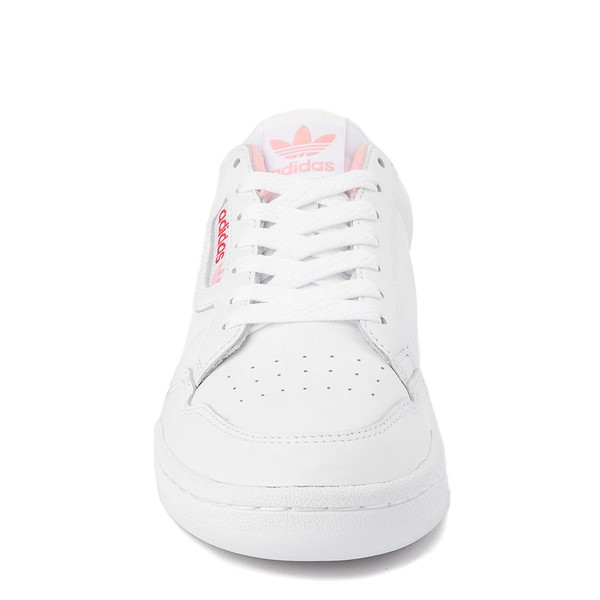 alternate view Womens adidas Continental 80 Athletic Shoe - White / Pink / RedALT4