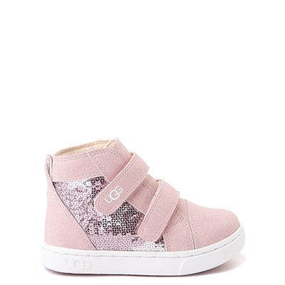 Main view of UGG® Rennon II Stars Boot - Toddler / Little Kid - Pink Crystal