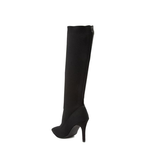 alternate view Womens MIA Meredith Tall Boot - BlackALT2