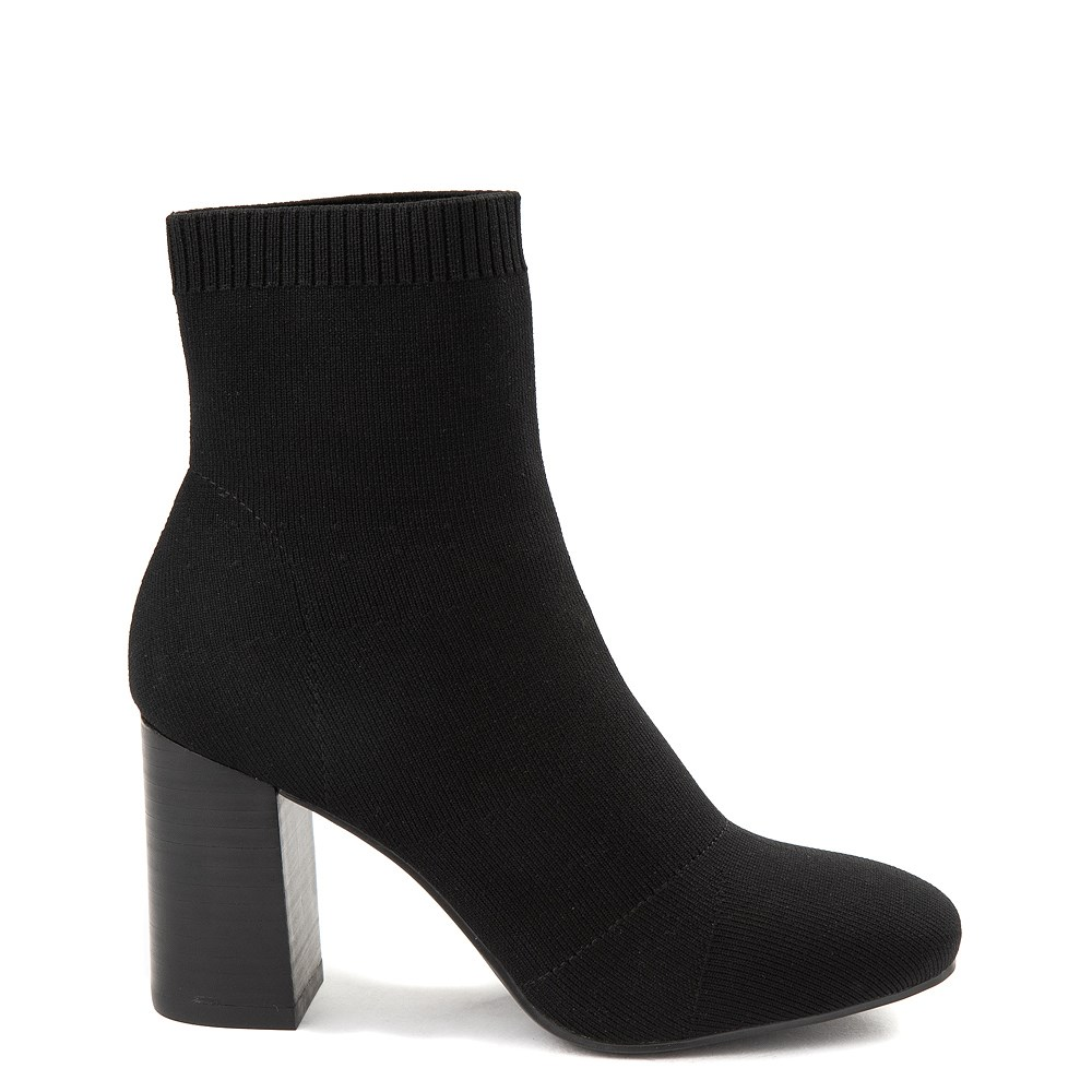 Womens MIA Rebeka Heel Bootie - Black