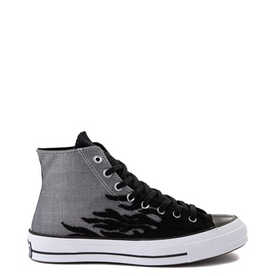 Main view of Converse Chuck 70 Hi Flames Sneaker - Black / Gray